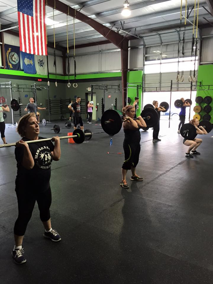 Heading into the CrossFit Open…