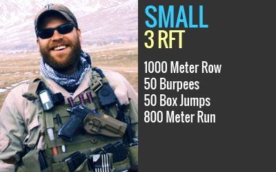 Join Us on May 11th for our Annual Marc Small Hero WOD!