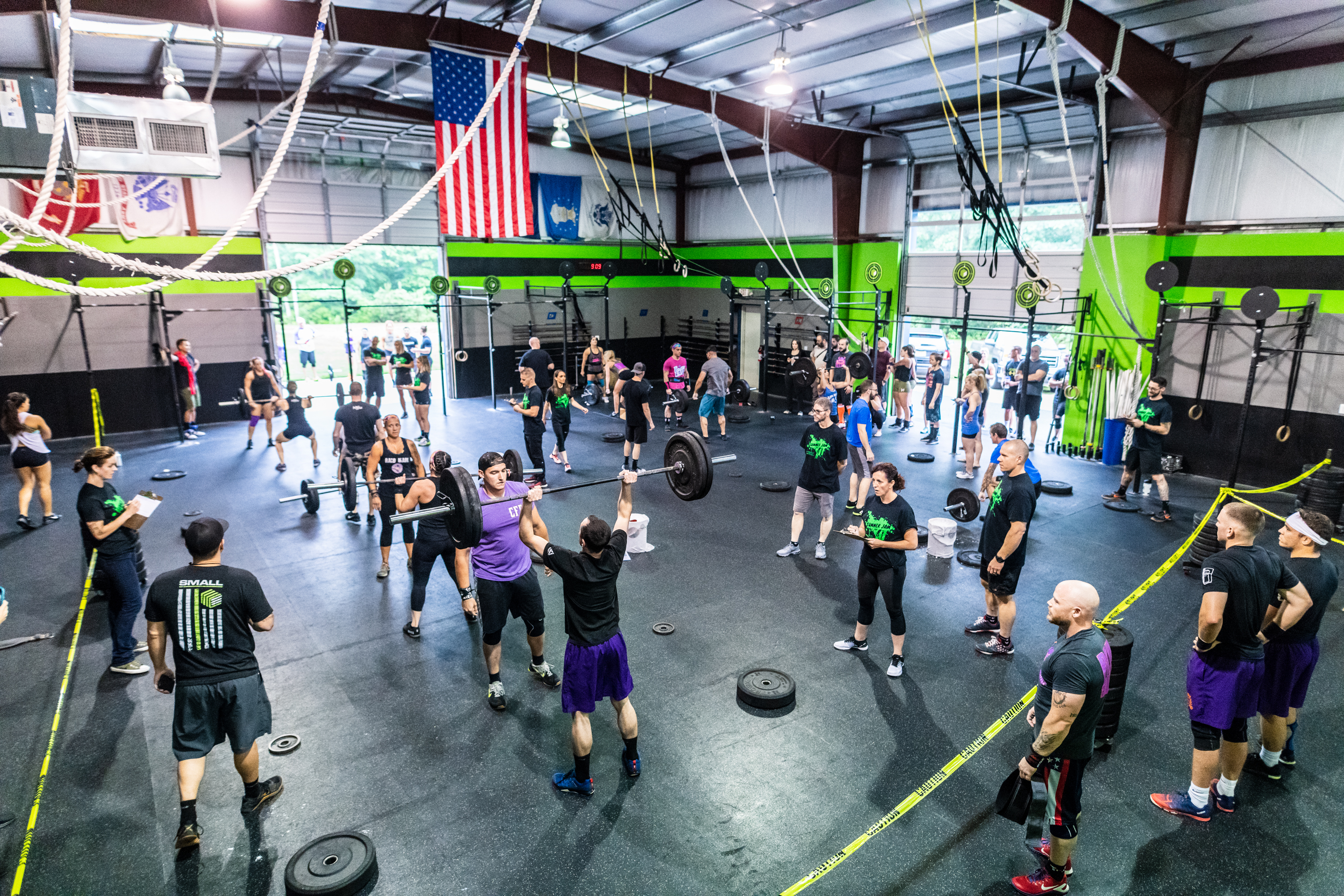 Rookie Rumble at CrossFit Off the Grid!